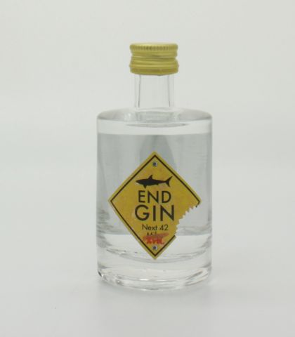 High End Gin - Old Tom Style Gin mit Rhabarber 50ml